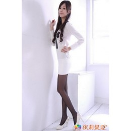 品名: 美肌透膚彈性褲襪(黑色) J-11860 全新 G-1637