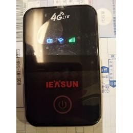 品名: 4G行動Wi-Fi分享器無線隨身WiFi攜帶式分享器SIM卡插卡(黑色) J-14453 六成新 G-3171
