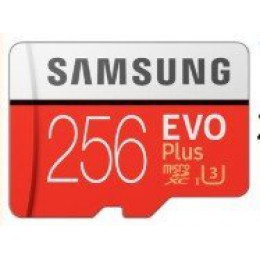 SAMSUNG 三星 EVO Plus microSDXC UHS-1(U3) Class10 256GB記憶卡 全新 G-3272