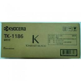 Kyocera TK-1186 黑色碳粉匣(原廠) 全新 G-4332