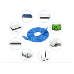 品名: 環保包裝RJ45網路線屏蔽雙絞線千兆工業級純無氧銅網線(顏色隨機)(1米) J-14653 全新 G-4551