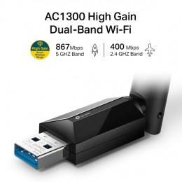 TP-Link Archer T3U Plus 1300Mbps 雙頻wifi網路USB無線網卡 全新 G-5552